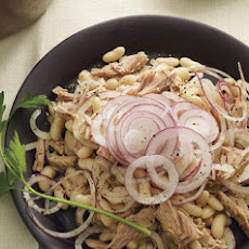 Tuna, White Bean, and Red Onion Salad
