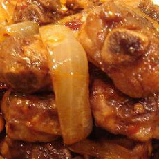 Braised Pork Ribs with Onions