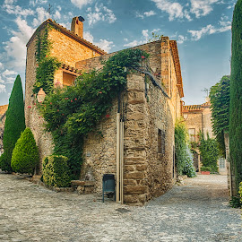 Peretallada, Girona, Spain by Liam Coburn Dunne - Buildings & Architecture Other Exteriors ( nikon 24-70 )