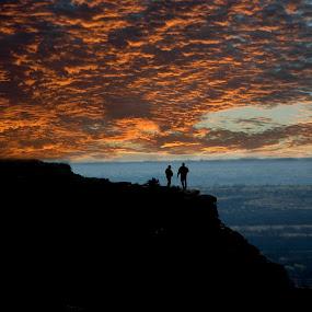 West Texas Sunset by Sandy Hurwitz - Landscapes Sunsets & Sunrises ( james, daniel, mesa, sunset, west texas,  )