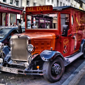 Red Truck by Georgi Karastoyanov - Transportation Automobiles ( car, red, truck, wallpaper, red truck, auto )