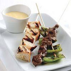 Cheesesteak Kebabs
