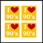 I Love 90s Music & Movies Quiz icon