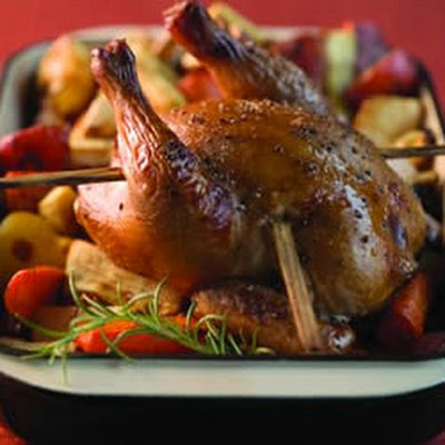 Seasoned Skewer Roasted Chicken