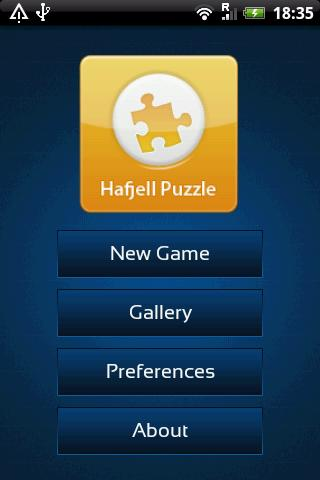 Hafjell Puzzle Game