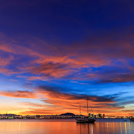 a colourful dawn by Jie Jack - Landscapes Cloud Formations