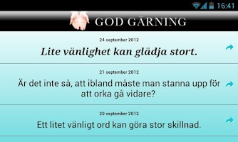 Screenshot of God gärning