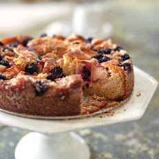 Apple-Blackberry Cake