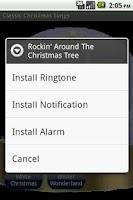 Screenshot of Classic Christmas Songs