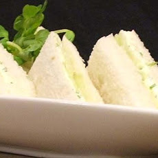 Cucumber Mint Tea Sandwiches