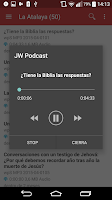 Screenshot of JW Podcast (español)