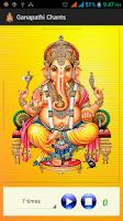 Screenshot of Ganesh chants