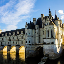 Château de Chenonceau by Gregory Ruderman - Buildings & Architecture Public & Historical ( loire, castle, france, chateau, turret, river )