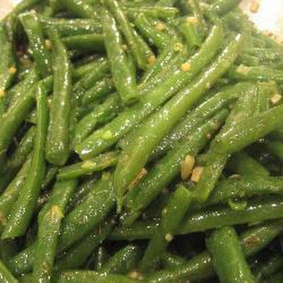Green Beans With Garlic And Thyme