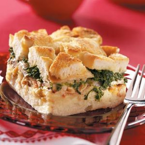 Spinach Mushroom Swiss Cheese Casserole Recipes | Yummly
