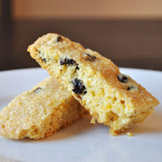 Cornmeal Cherry Biscotti