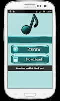 Screenshot of Mp3 Music Downloader