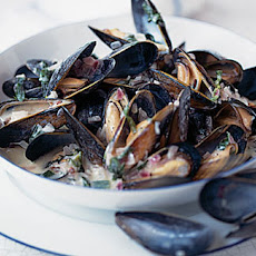 Mussels With Tarragon And Creme Fraiche