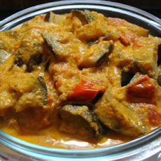 Curried Eggplant in Tomato Sauce