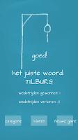 Screenshot of Hangman (Dutch)