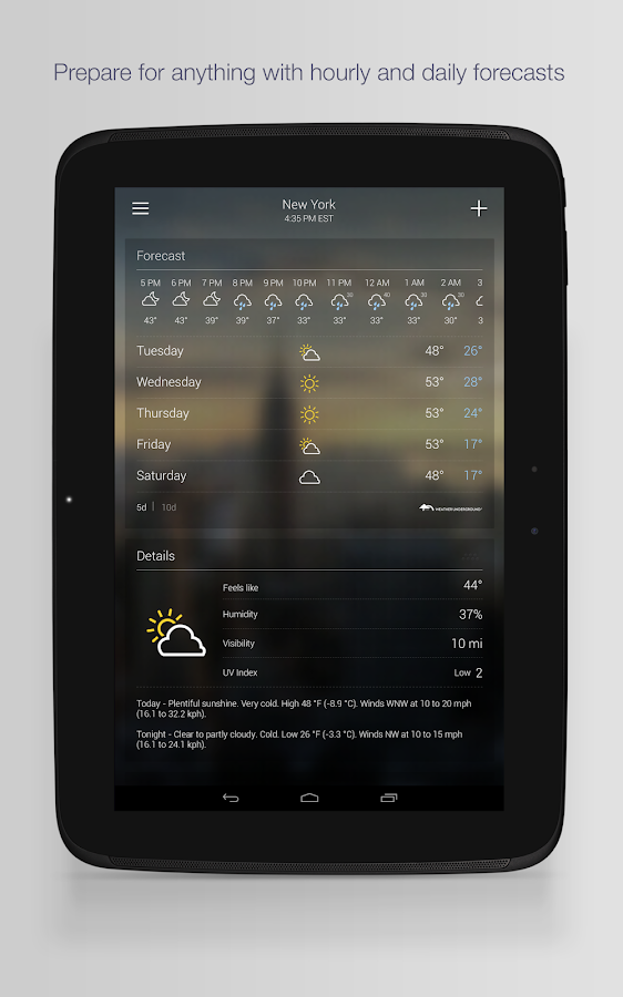 Yahoo Weather Screenshot 6