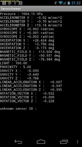 Sensor Viewer