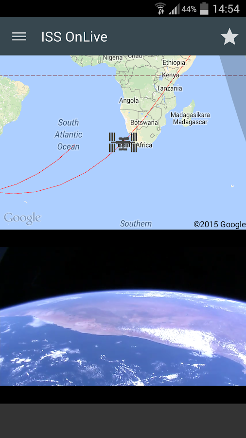 ISS onLive: Live Earth cameras Screenshot 16
