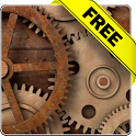 Rusty gears free livewallpaper icon