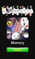 Screenshot of C-Marbles Card [Memory]