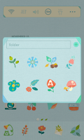 Screenshot of Paper Flower Dodol Theme