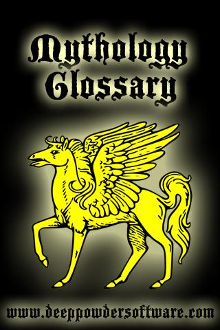 Mythology Glossary
