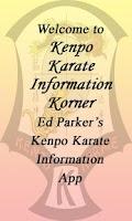 Screenshot of Kenpo Karate Info Korner