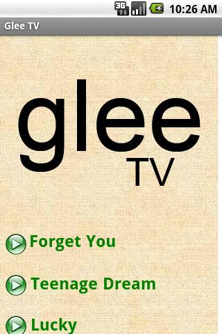 Glee TV