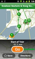 Screenshot of Hong Kong City Guide