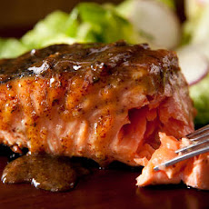 Maple-Mustard Grilled Salmon