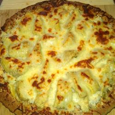 Crab-Artichoke Pizza