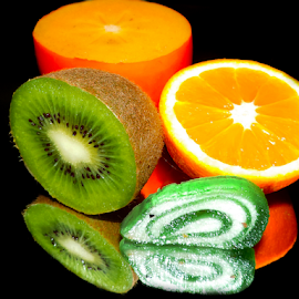 fruits with candy by LADOCKi Elvira - Food & Drink Fruits & Vegetables