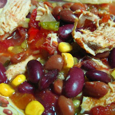 Low Fat Crock Pot Chicken Taco Soup