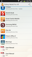 Screenshot of Galaxy Note3 For All