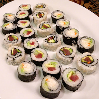 Sushi Rice & Spicy Tuna for Sushi