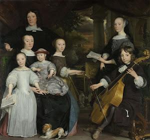 RIJKS: Abraham van den Tempel: David Leeuw with his Family 1671