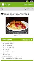 Screenshot of Kotikokki.net