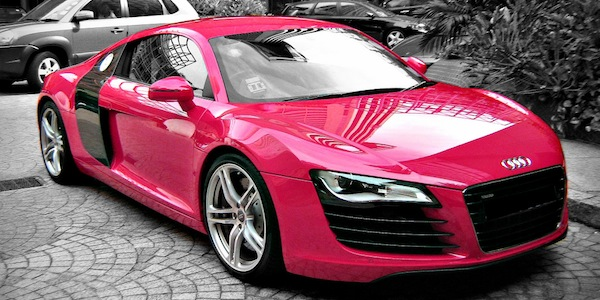 Nissan San Francisco >> Breast Cancer Awareness Month: Pink Supercar Special (Photos) - Carhoots