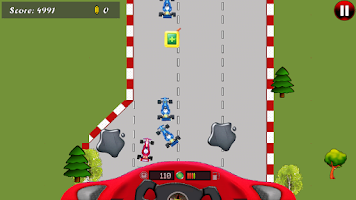 Screenshot of Formula Car Game for Android