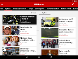 Screenshot of BBC News