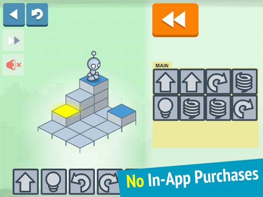 Lightbot Jr: Coding Puzzles - screenshot