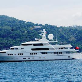 MY Titania by Ilse Gibson - Transportation Boats ( motorcruiser, cruiser, superyacht, motorboat, luxury yacht, motoryacht )