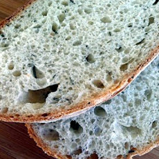 Rosemary Sourdough Bread (Bread Machine)