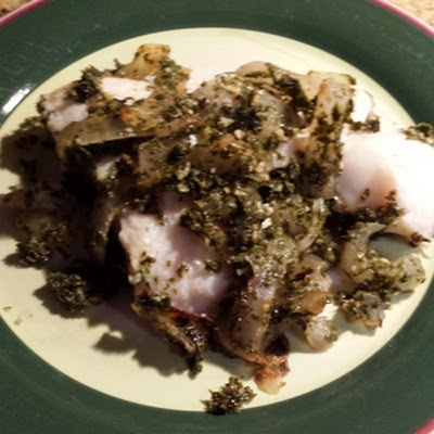 Fish in Parsley-Wine Sauce