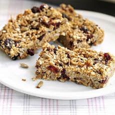 Cinnamon Berry Granola Bars